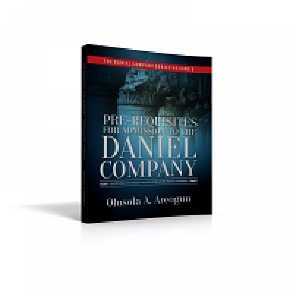Pre-requisite for Admission to the Daniel Company (hard copy)